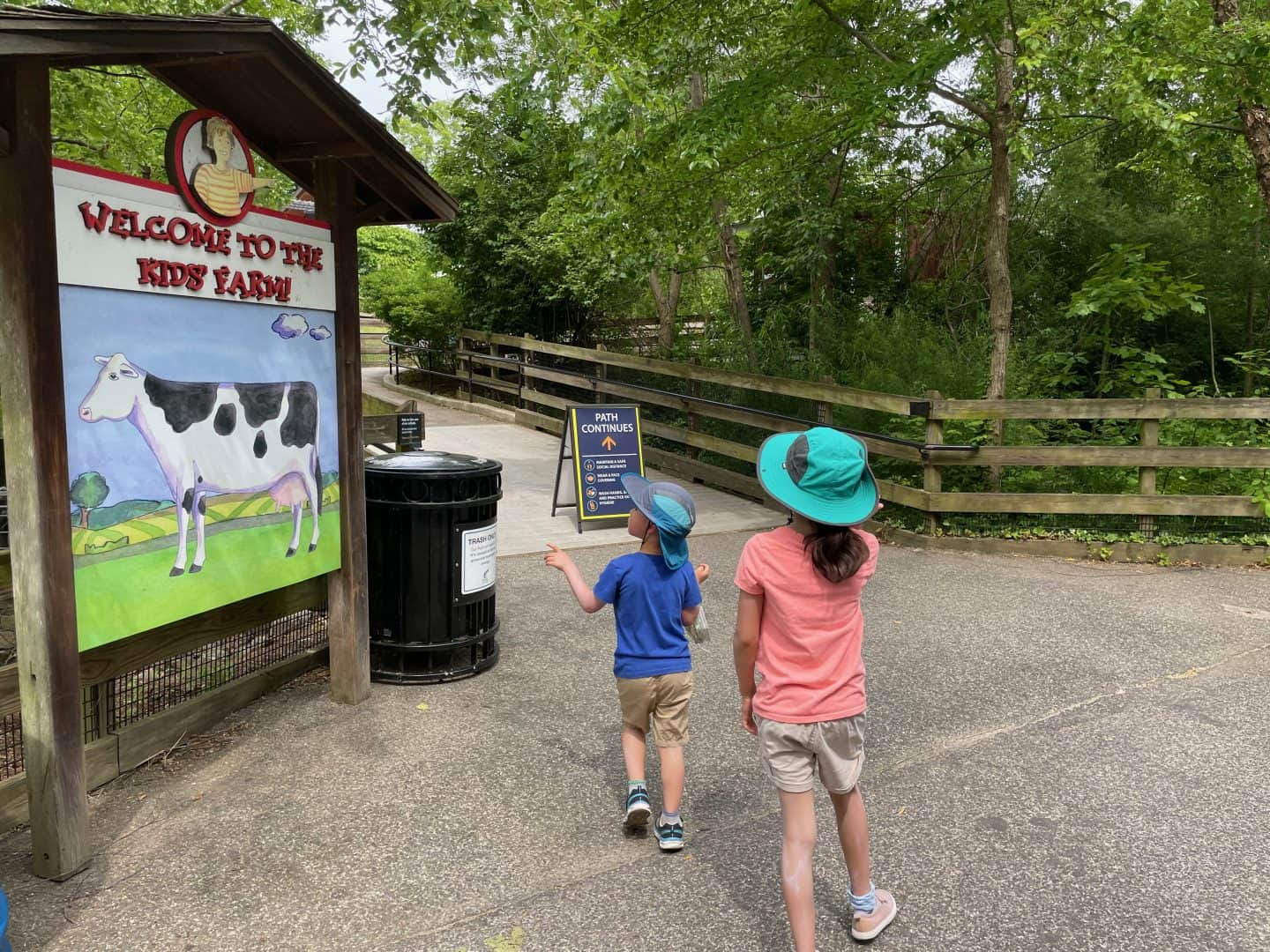 Kids Farm at the Nation