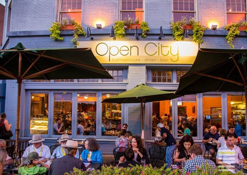 Open City is one of the great Kid Friendly DC Restaurants near the Zoo!