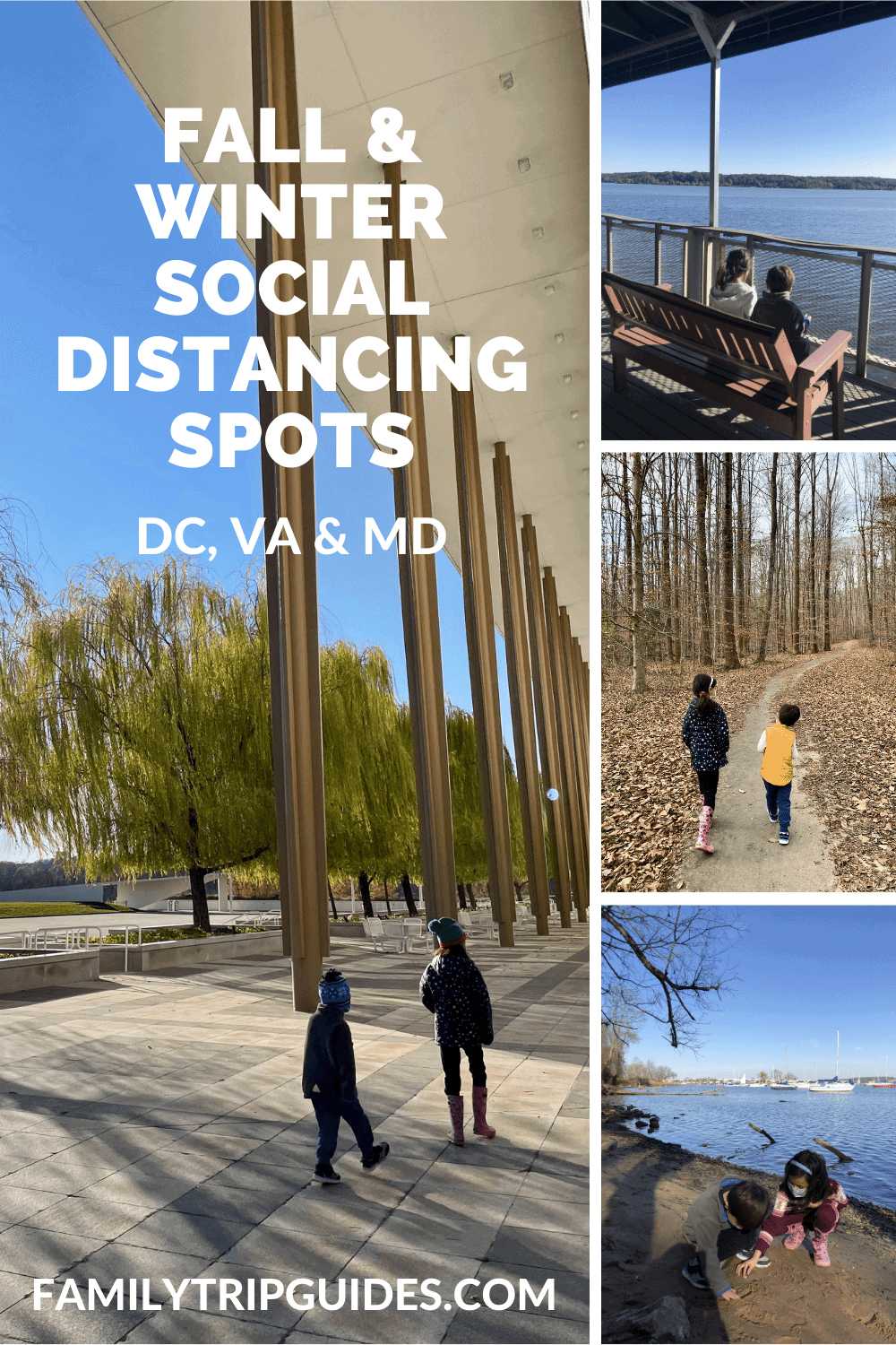 Social Distancing Activities in DC VA and MD
