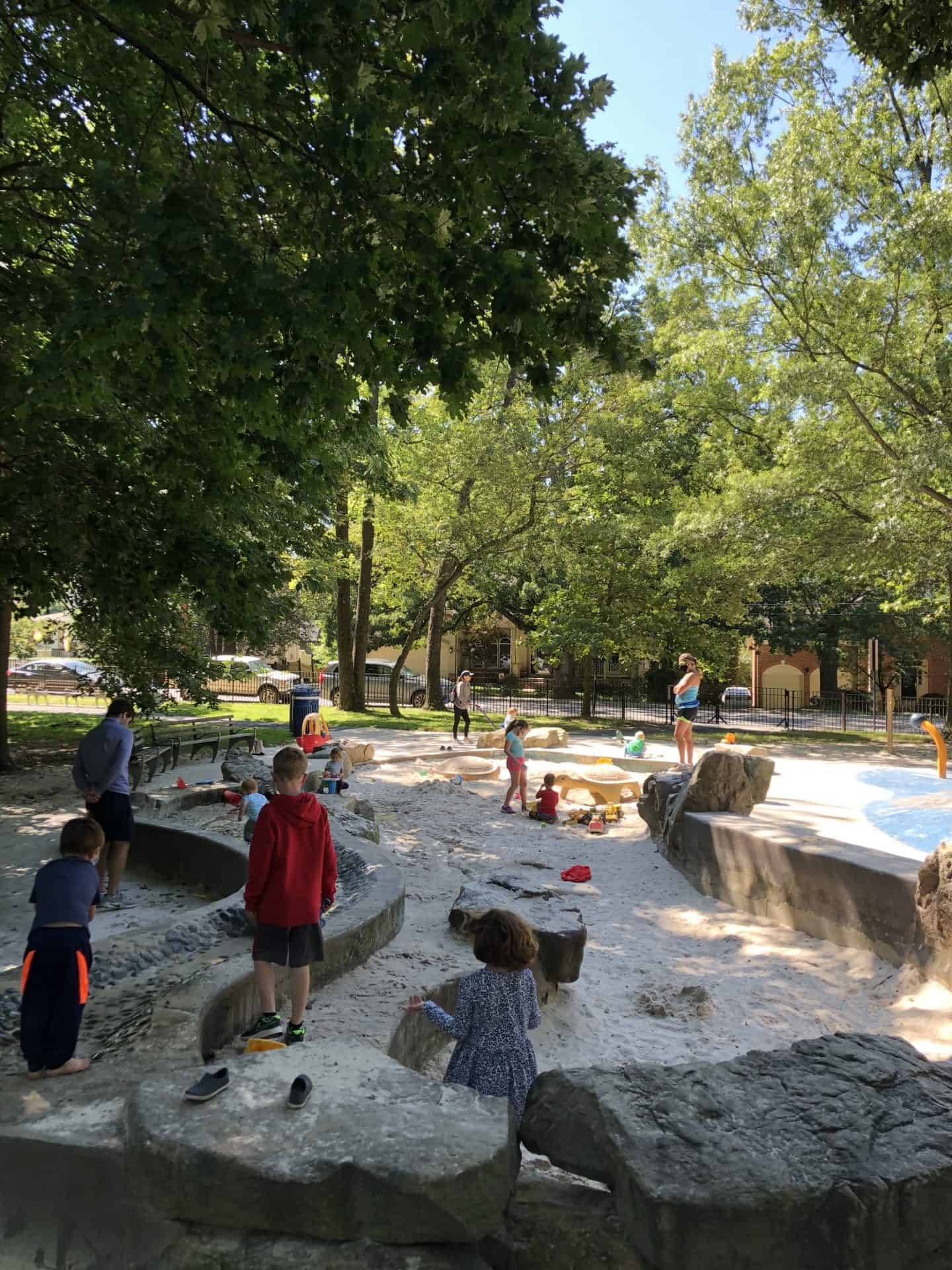 Chestnut Hills Best Playgrounds in Arlington Va