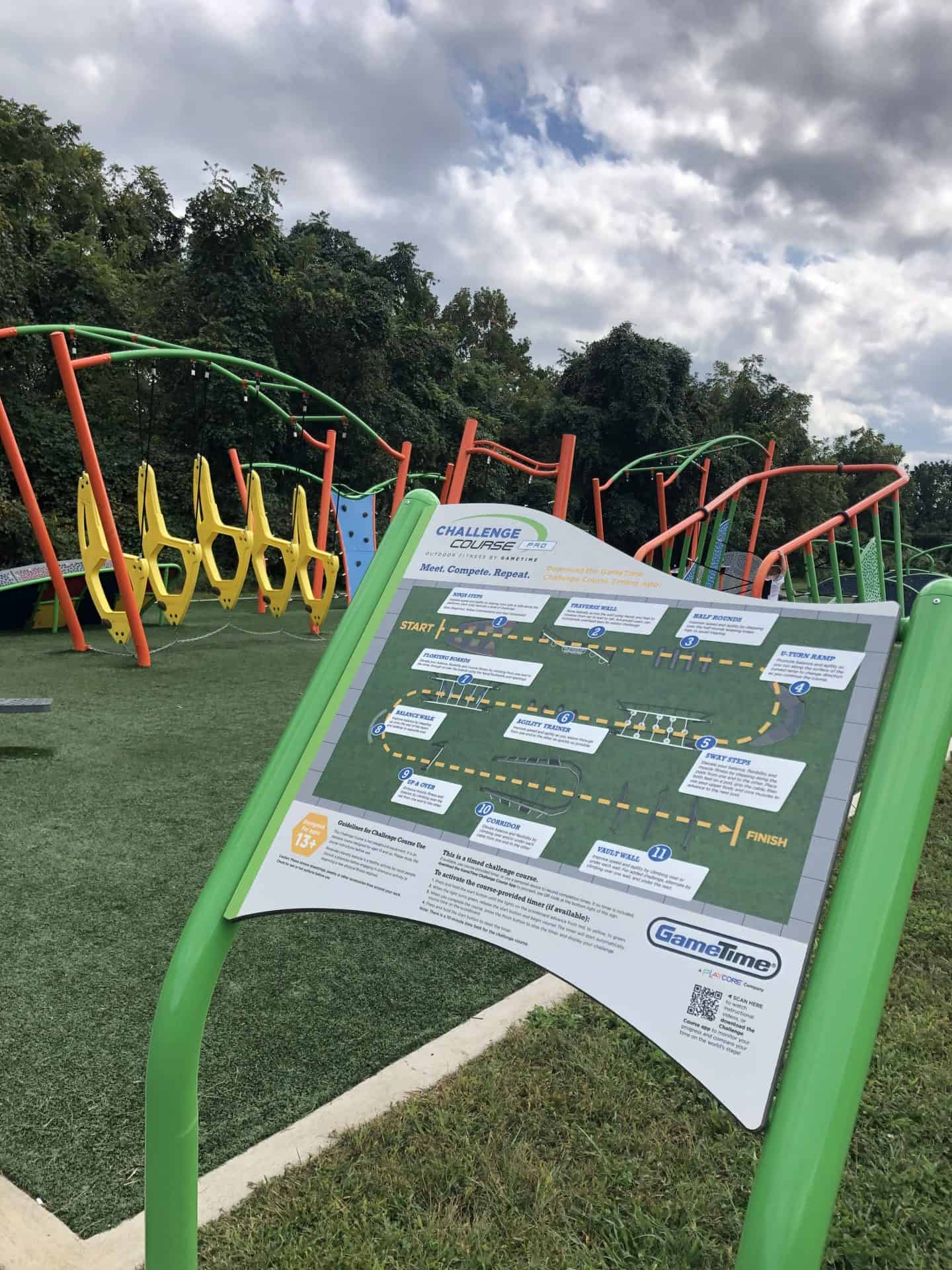 Challenge Course in Burke, one of the best playgrounds in Fairfax
