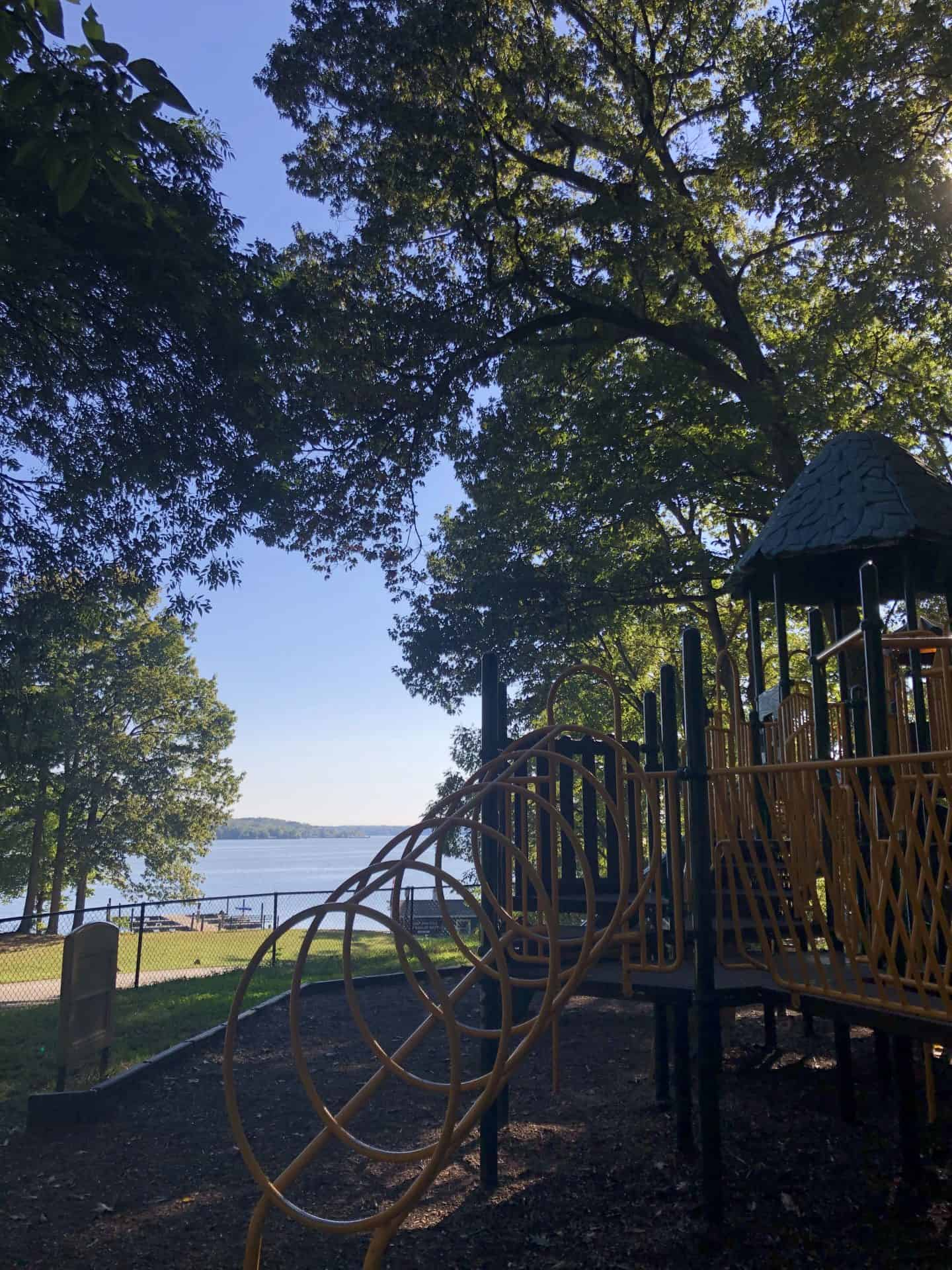 Playground with a View! - Pohick Bay Regional Park one of the best playgrounds in Northern VA