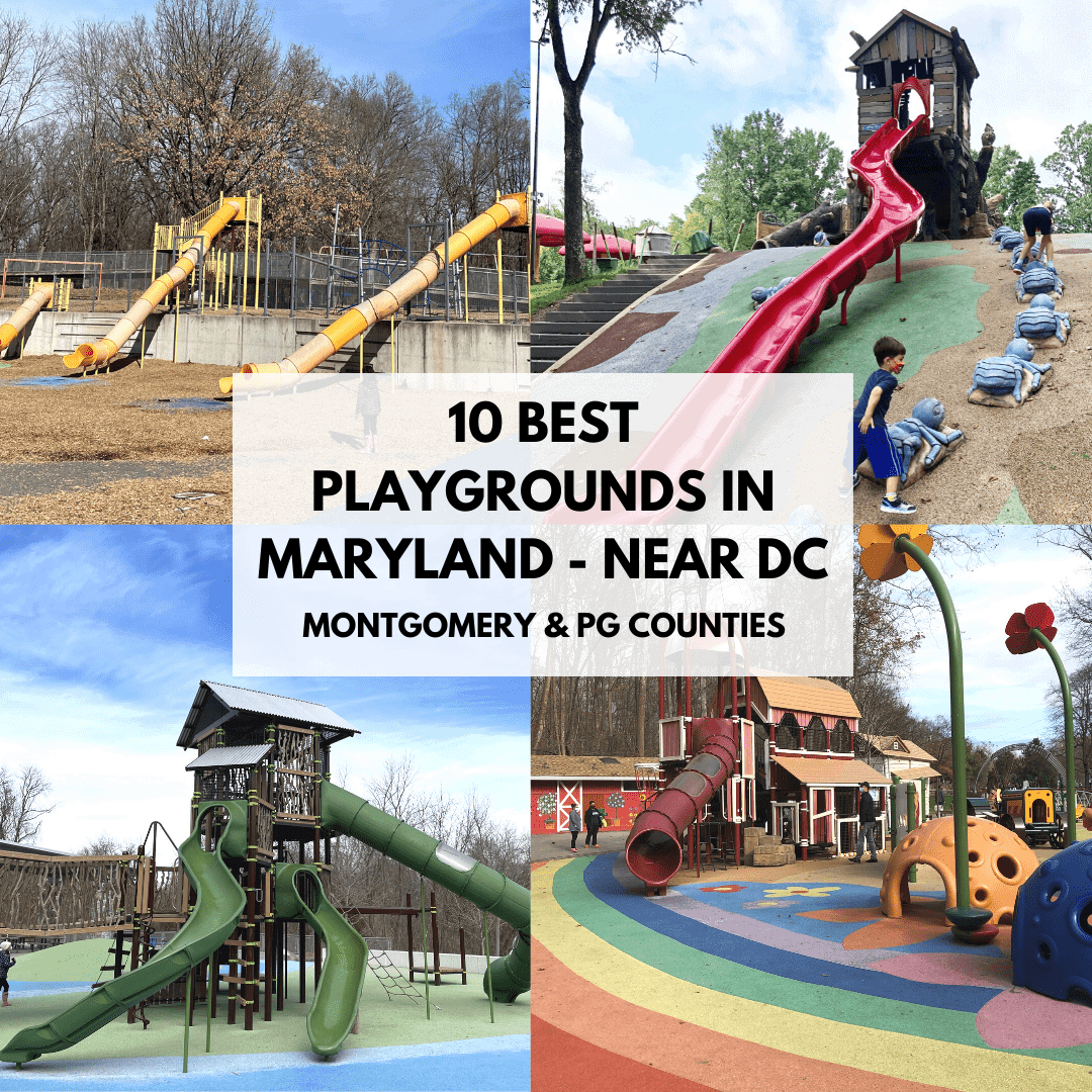 Best Playgrounds in Maryland - Montgomery Playgrounds PG County Playgrounds