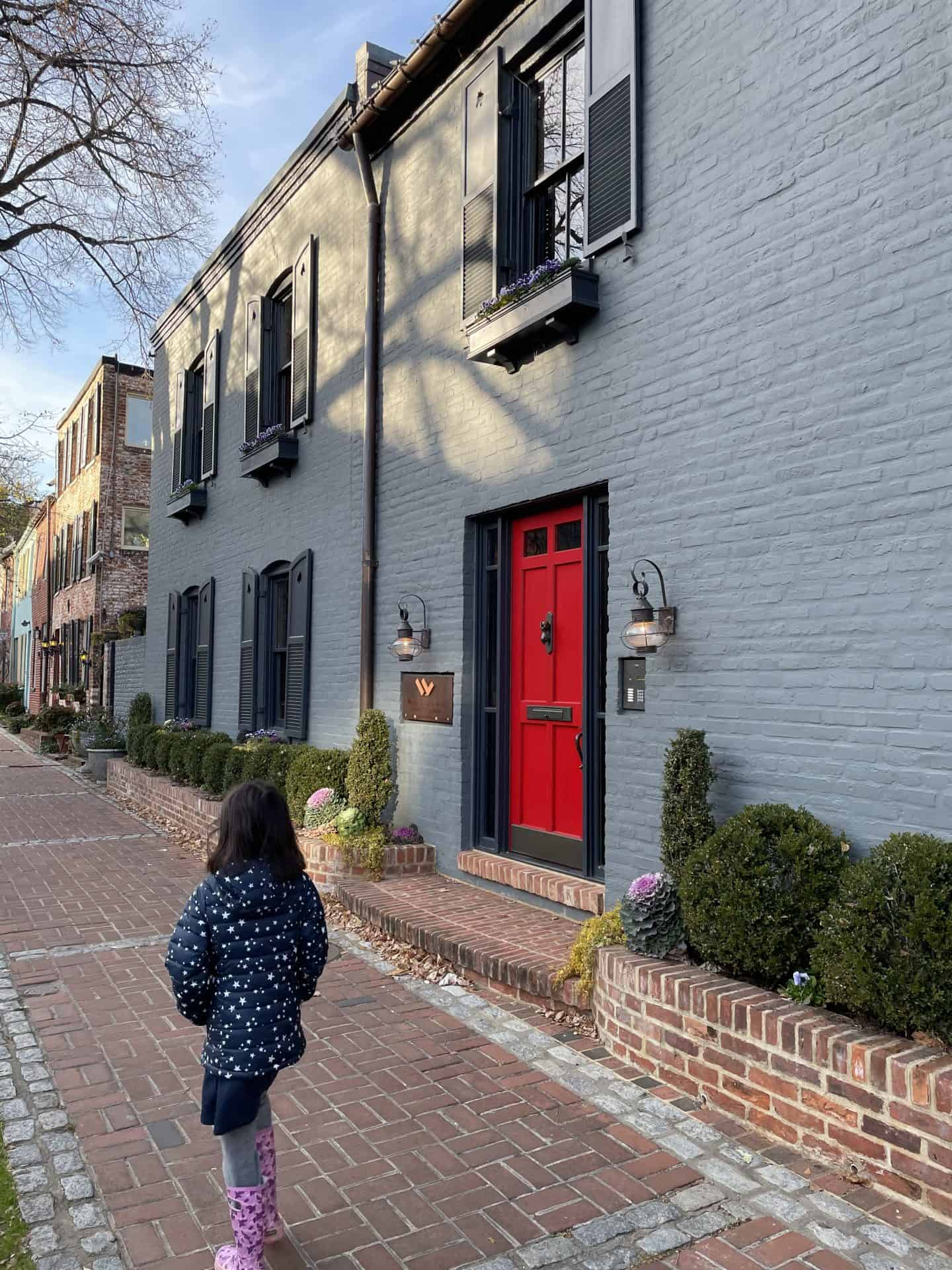 georgetown dc with babies