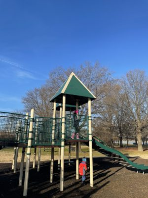 Hains Point Playgrounds in Washington DC