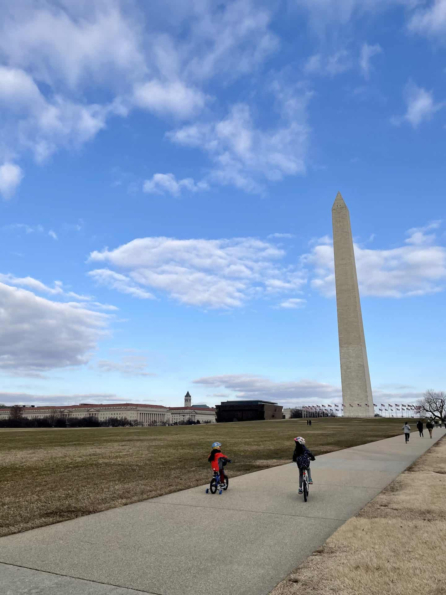 national mall in dc with kids