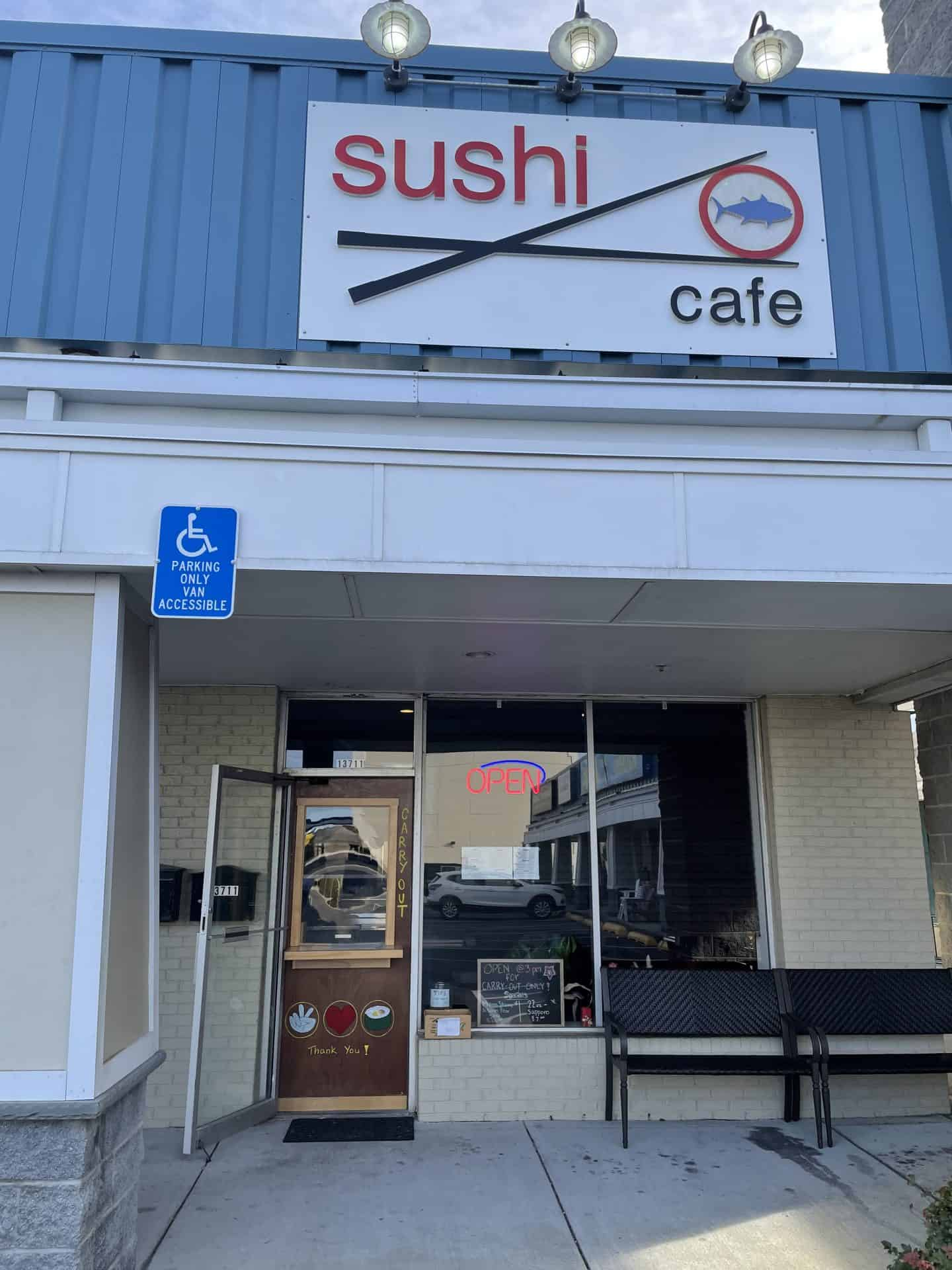 Sushi Cafe Ocean City near Bethany Beach