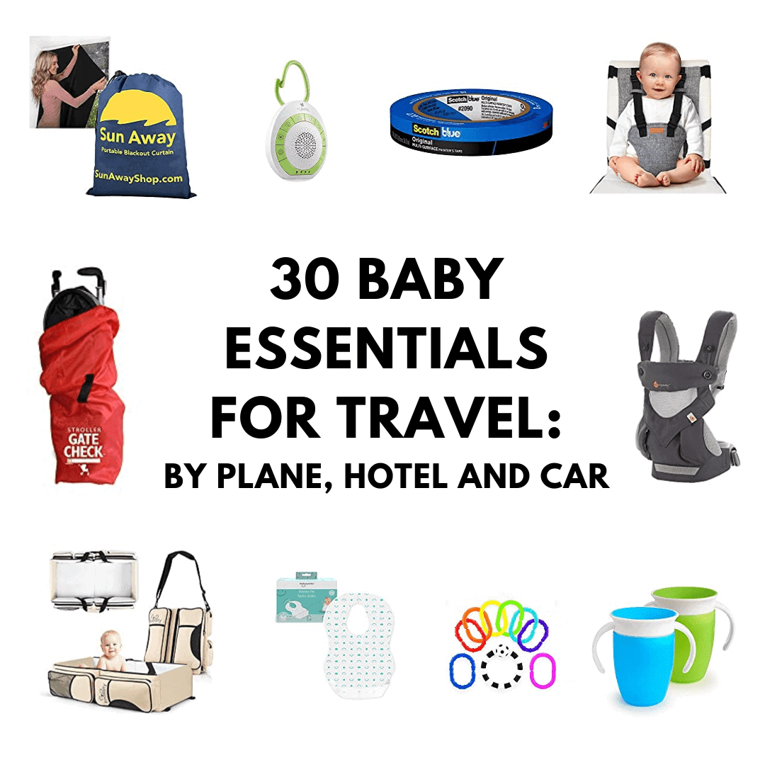 baby essentials for travel