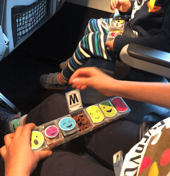 Snack container Baby essentials for Travel