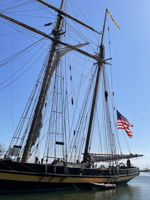 Ships in Annapolis City Dock
