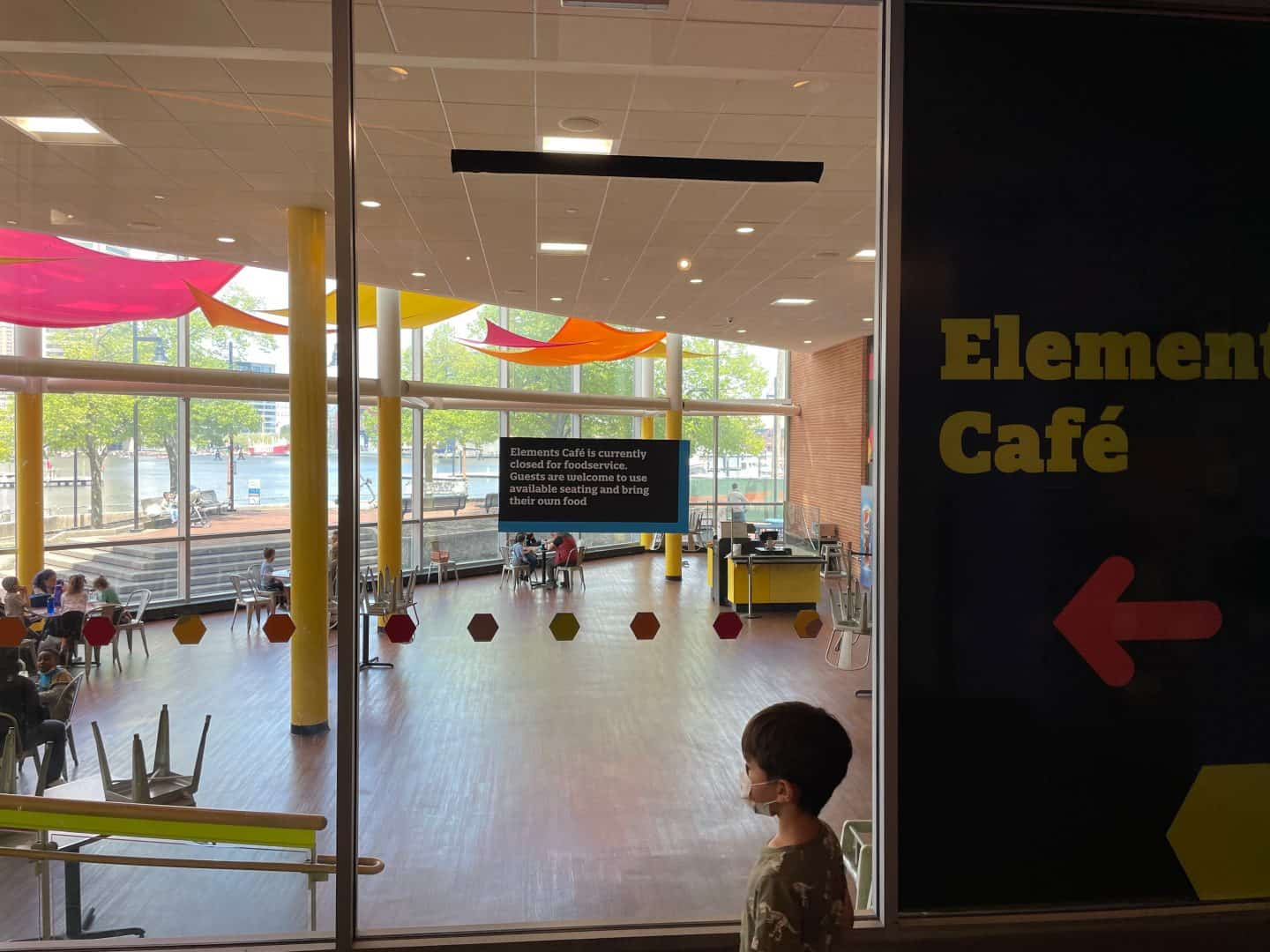 maryland science center Cafeteria
