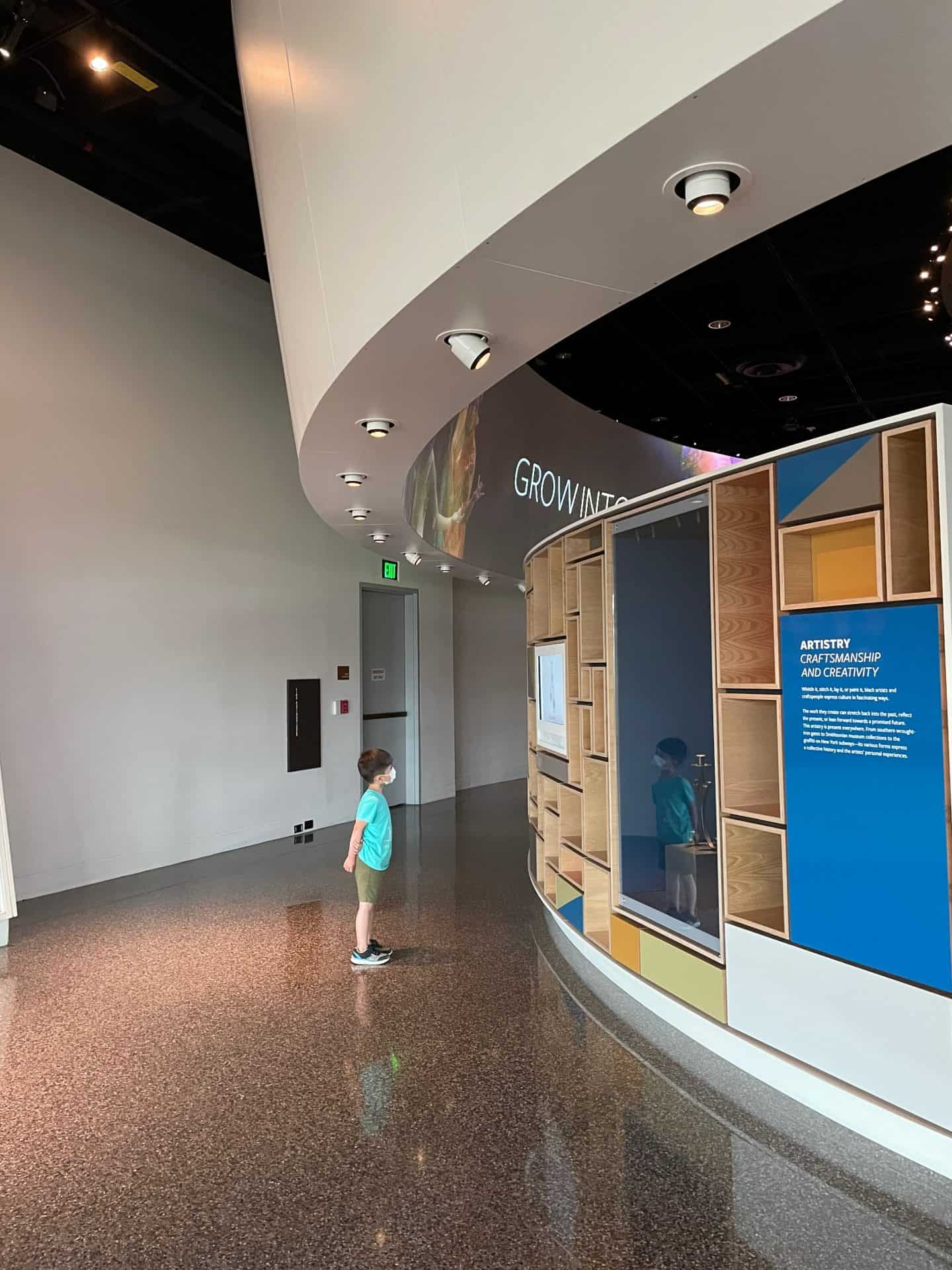 African American Museum with Kids