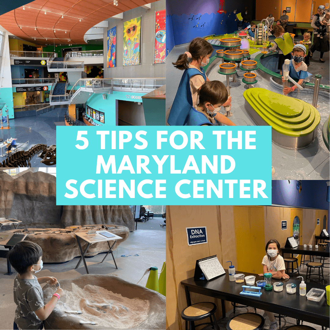 Maryland Science Center Parking and Tips
