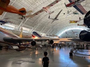 National Air and Space Museum with Kids Udvar Hazy Virginia