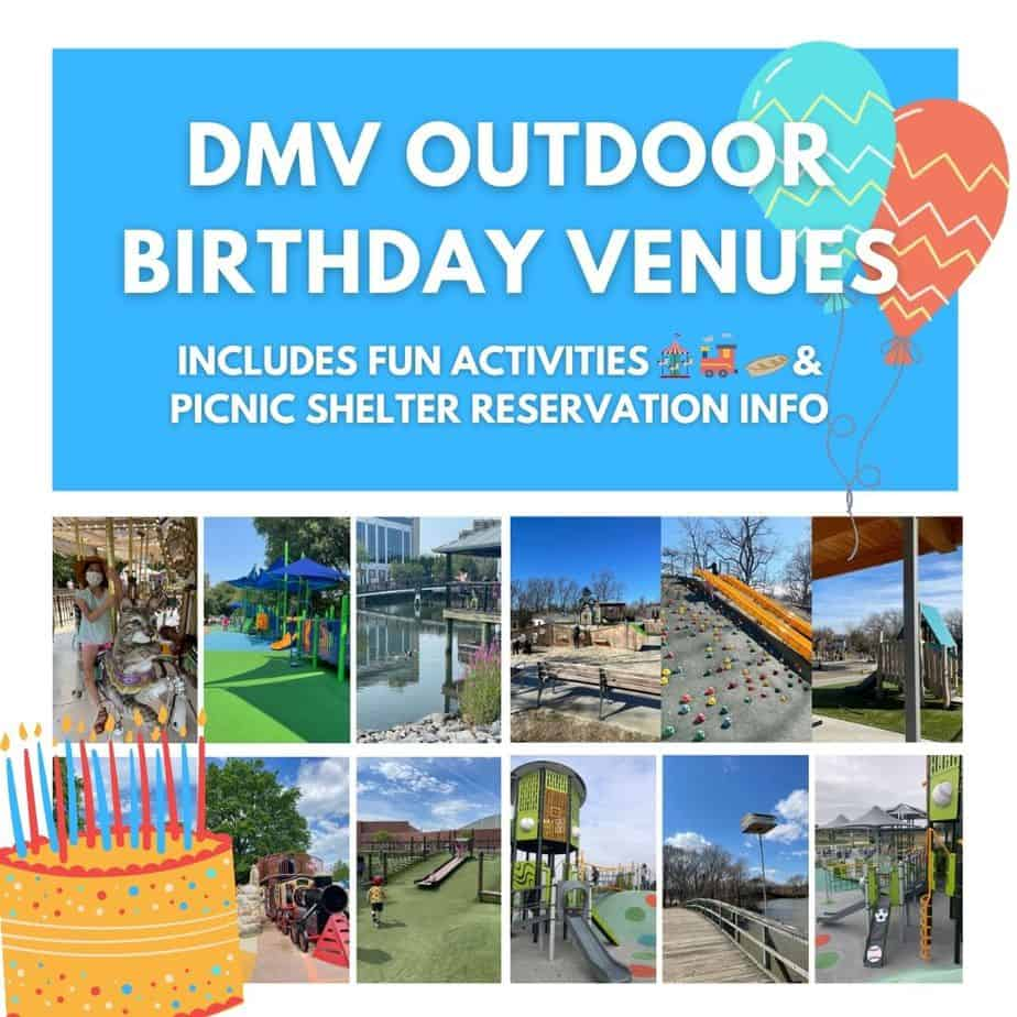Outdoor Birthday Party Venues Near Me